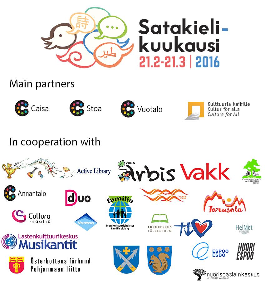 Logos Partners Satakielikuukausi