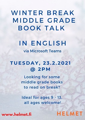A WINTER break BOOK TALK IN ENGLISH