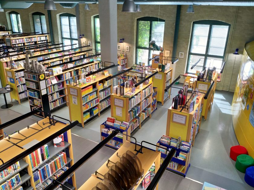 Lapuan kirjaston yleiskuva.