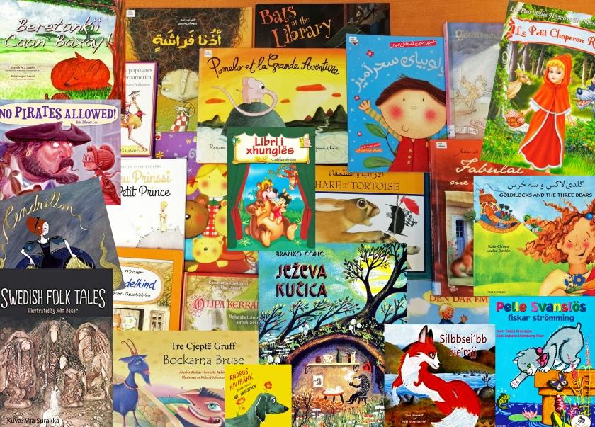 Monikielisiä lastenkirjoja